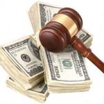Sales Tax money gavel